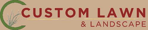 Custom Lawn & Landscaping Logo
